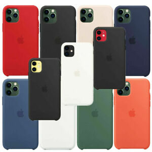 GENUINA ORIGINAL SILICONA Funda carcasa para Apple iPhone X XR XS - printpeace