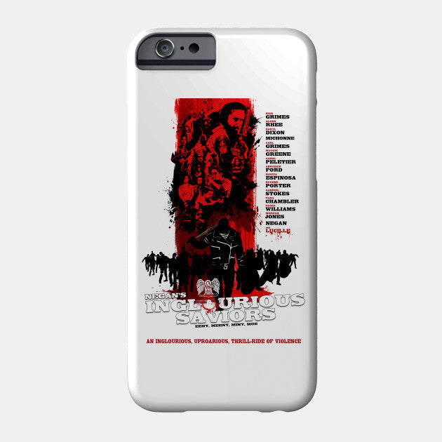 Negan's Inglourious Saviors - The Walking Dead - Funda Para