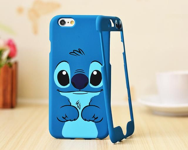Nephy Mickey Stitch Pattern 360 Degree Full Coque Case For iPhone
