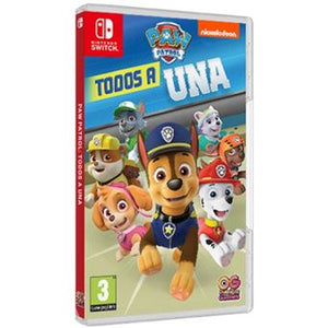 Nintendo Switch Paw Patrol: Todos a Una + Funda para Nintendo Switch