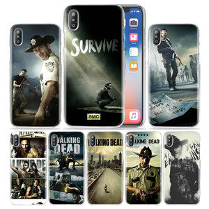 The Walking Dead Case for iPhone XS Max XR X 6 6S 7 8 Plus 5s SE 5