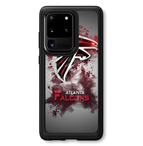 coque custodia cover fundas hoesjes j3 J5 J6 s20 s10 s9 s8 s7 s6 s5 plus edge B10332 Atalanta Falcons Logo FF0240 Samsung Galaxy S20 Ultra Case