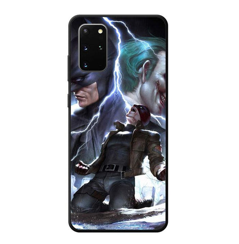 coque custodia cover fundas hoesjes j3 J5 J6 s20 s10 s9 s8 s7 s6 s5 plus edge B12198 Batman Joker FF0382 Samsung Galaxy S20 Plus Case