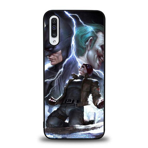 coque custodia cover fundas hoesjes j3 J5 J6 s20 s10 s9 s8 s7 s6 s5 plus edge B12191 Batman Joker FF0382 Samsung Galaxy A50 Case
