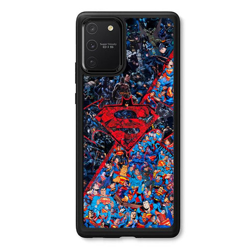 coque custodia cover fundas hoesjes j3 J5 J6 s20 s10 s9 s8 s7 s6 s5 plus edge B12251 Batman Superman B0465 Samsung Galaxy S10 Lite 2020 Case