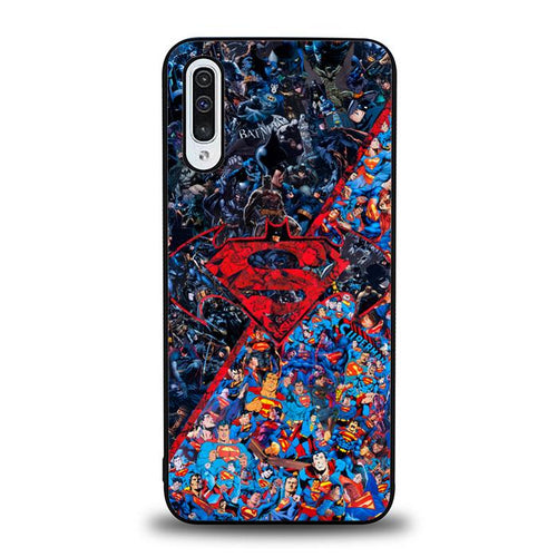 coque custodia cover fundas hoesjes j3 J5 J6 s20 s10 s9 s8 s7 s6 s5 plus edge B12247 Batman Superman B0465 Samsung Galaxy A50 Case
