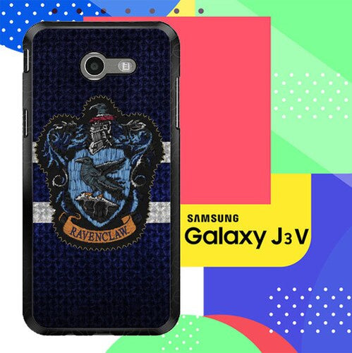 Harry Potter Knit Ravenclaw Wall Crest Logo F0185 Samsung Galaxy J3 Emerge, J3 Eclipse , Amp Prime 2, Express Prime 2 2017 SM J327 coque fundas