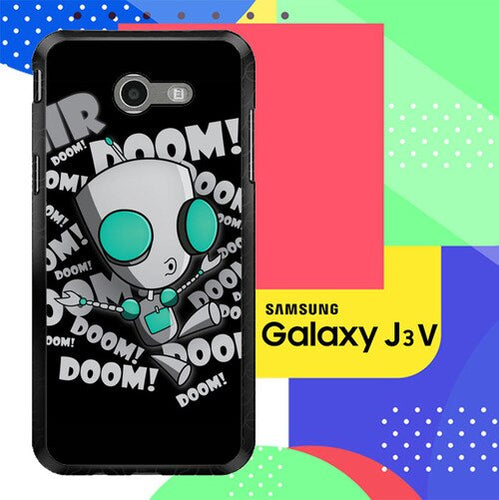 invader zim gir doom song Z0621 Samsung Galaxy J3 Emerge, J3 Eclipse , Amp Prime 2, Express Prime 2 2017 SM J327 coque fundas