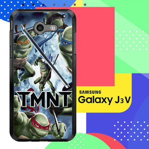 Tmnt Teenage Mutant Ninja Turtle  Z0654 Samsung Galaxy J3 Emerge, J3 Eclipse , Amp Prime 2, Express Prime 2 2017 SM J327 coque fundas
