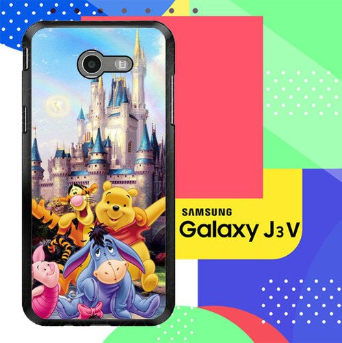 Winnie The Pooh disney Z0060 Samsung Galaxy J3 Emerge, J3 Eclipse , Amp Prime 2, Express Prime 2 2017 SM J327 coque fundas