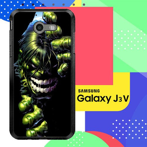 Superheroes The Incredible Hulk Z0047 Samsung Galaxy J3 Emerge, J3 Eclipse , Amp Prime 2, Express Prime 2 2017 SM J327 coque fundas