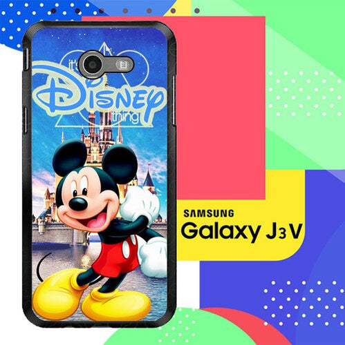 mickey mouse disney Z0548 Samsung Galaxy J3 Emerge, J3 Eclipse , Amp Prime 2, Express Prime 2 2017 SM J327 coque fundas