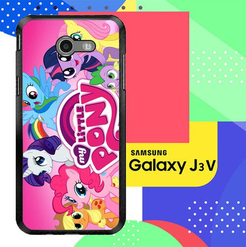 MY LITTLE PONY Z1358 Samsung Galaxy J3 Emerge, J3 Eclipse , Amp Prime 2, Express Prime 2 2017 SM J327 coque fundas