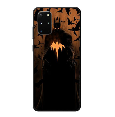 coque custodia cover fundas hoesjes j3 J5 J6 s20 s10 s9 s8 s7 s6 s5 plus edge B12076 Batman FJ0999 Samsung Galaxy S20 Plus Case