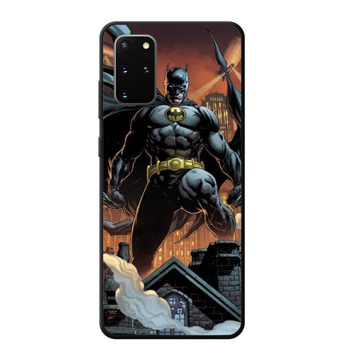 coque custodia cover fundas hoesjes j3 J5 J6 s20 s10 s9 s8 s7 s6 s5 plus edge B12122 Batman FJ1075 Samsung Galaxy S20 Plus Case
