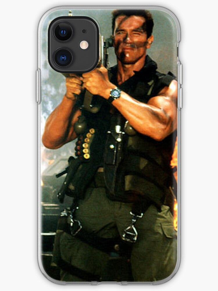 funda iphone 11 schwarzenegger