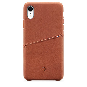 funda iphone xr piel