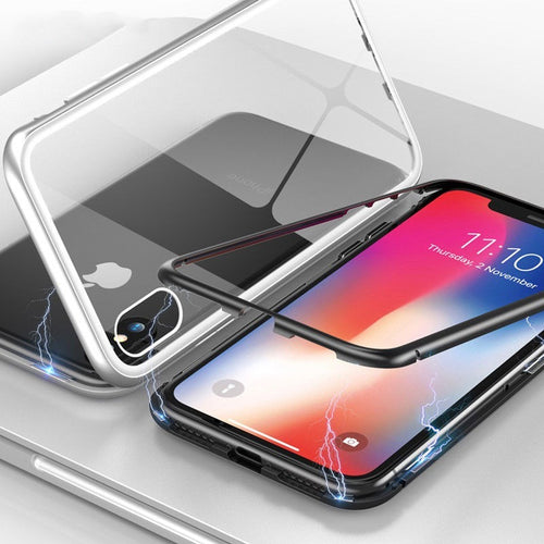 funda iphone xs max magnetica
