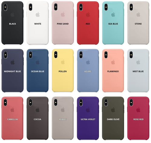 funda iphone xs max silicona