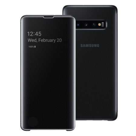 funda samsung clear view s10 plus
