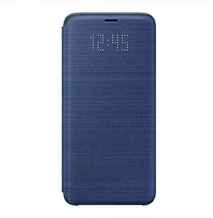 funda samsung led view cover azul para galaxy s9 plus