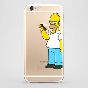homer funda iphone