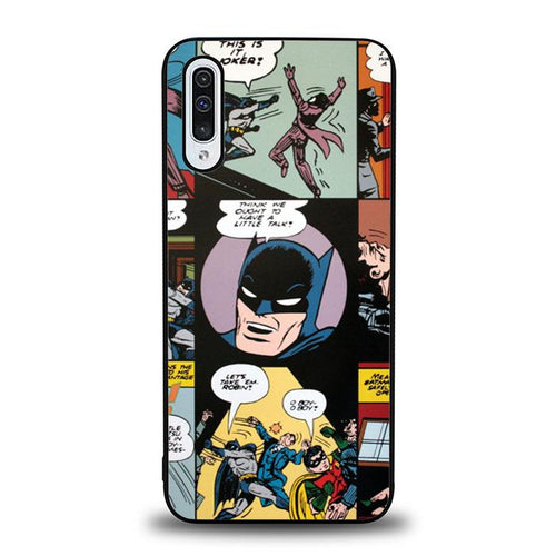 coque custodia cover fundas hoesjes j3 J5 J6 s20 s10 s9 s8 s7 s6 s5 plus edge B12160 Batman J0601 Samsung Galaxy A50 Case