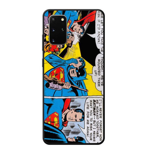 coque custodia cover fundas hoesjes j3 J5 J6 s20 s10 s9 s8 s7 s6 s5 plus edge B11928 Batman And Superman J0602 Samsung Galaxy S20 Plus Case