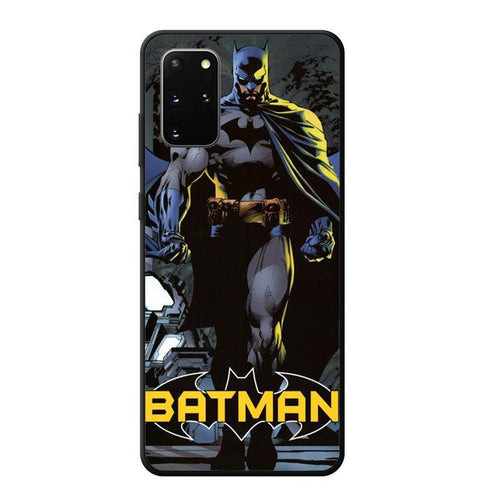 coque custodia cover fundas hoesjes j3 J5 J6 s20 s10 s9 s8 s7 s6 s5 plus edge B12173 Batman J0607 Samsung Galaxy S20 Plus Case