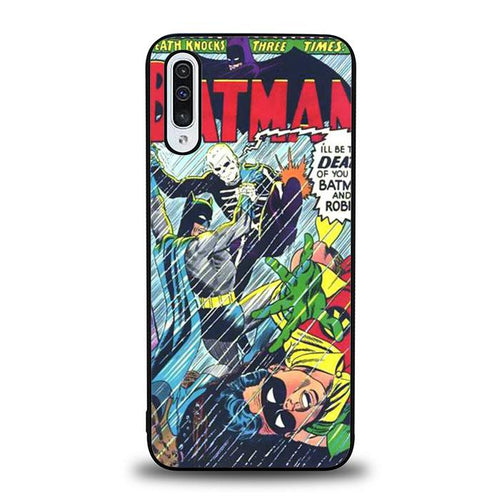 coque custodia cover fundas hoesjes j3 J5 J6 s20 s10 s9 s8 s7 s6 s5 plus edge B12235 Batman Story Of Comic J0623 Samsung Galaxy A50 Case