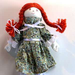 Doll, red head