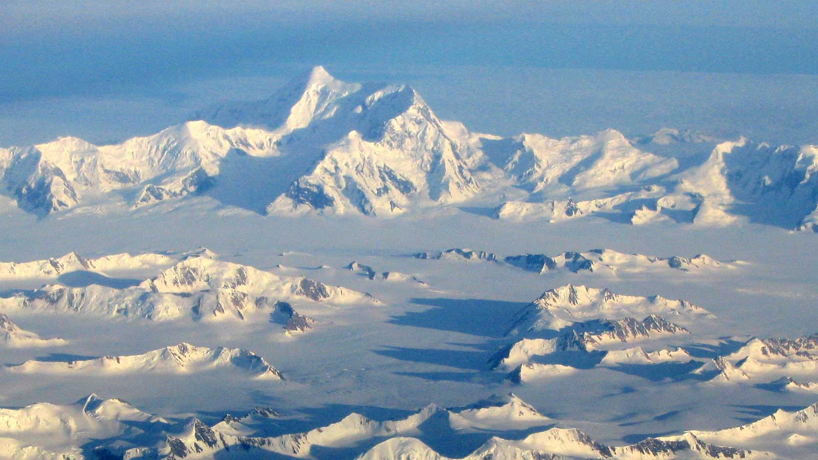 Wrangell St. Elias from the air