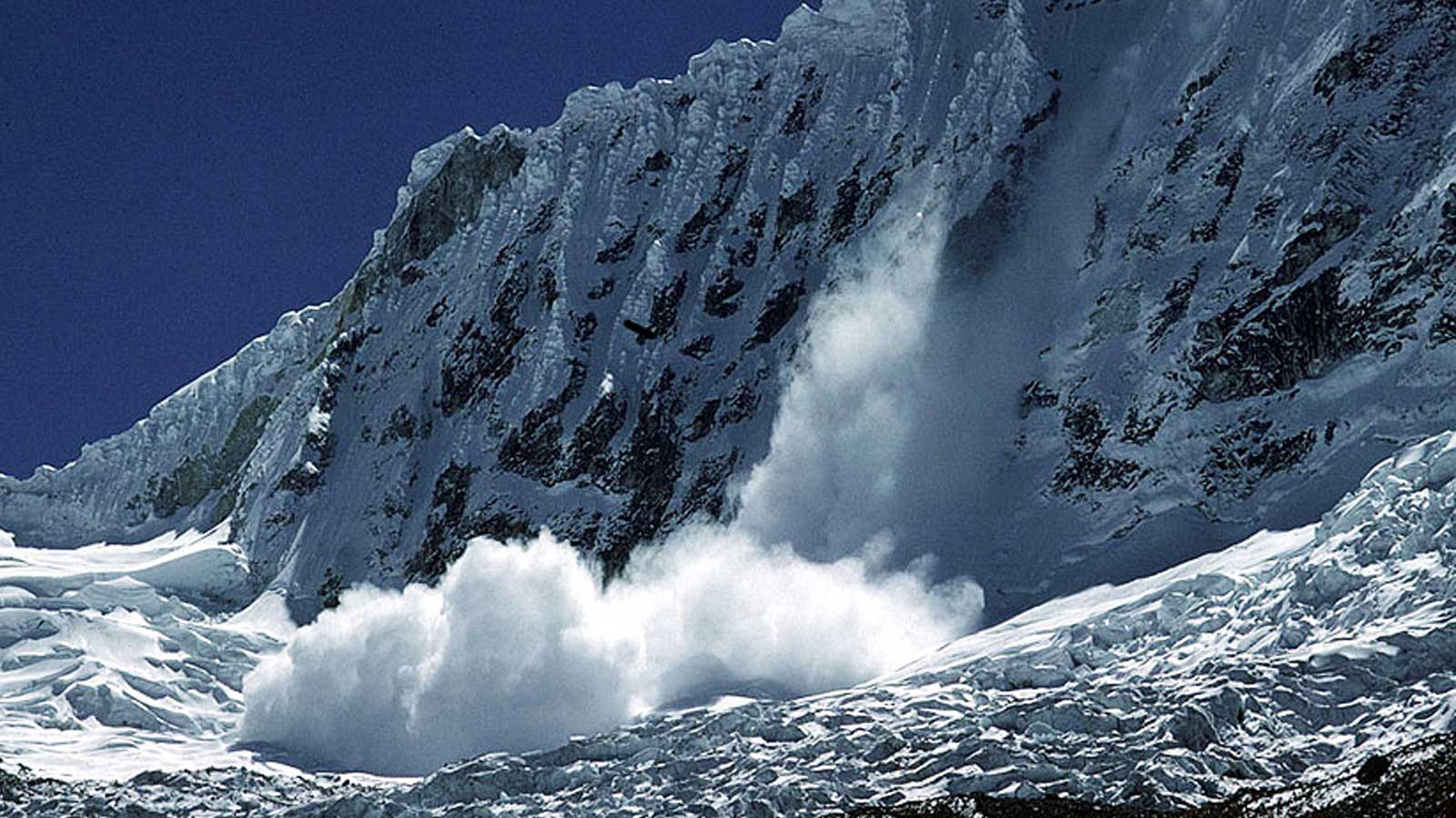 ice avalanche