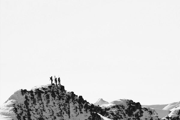 Hikers on Aspen Highlands ridge