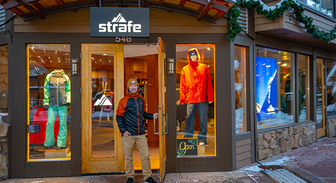 Strafe Snowmass store/showroom