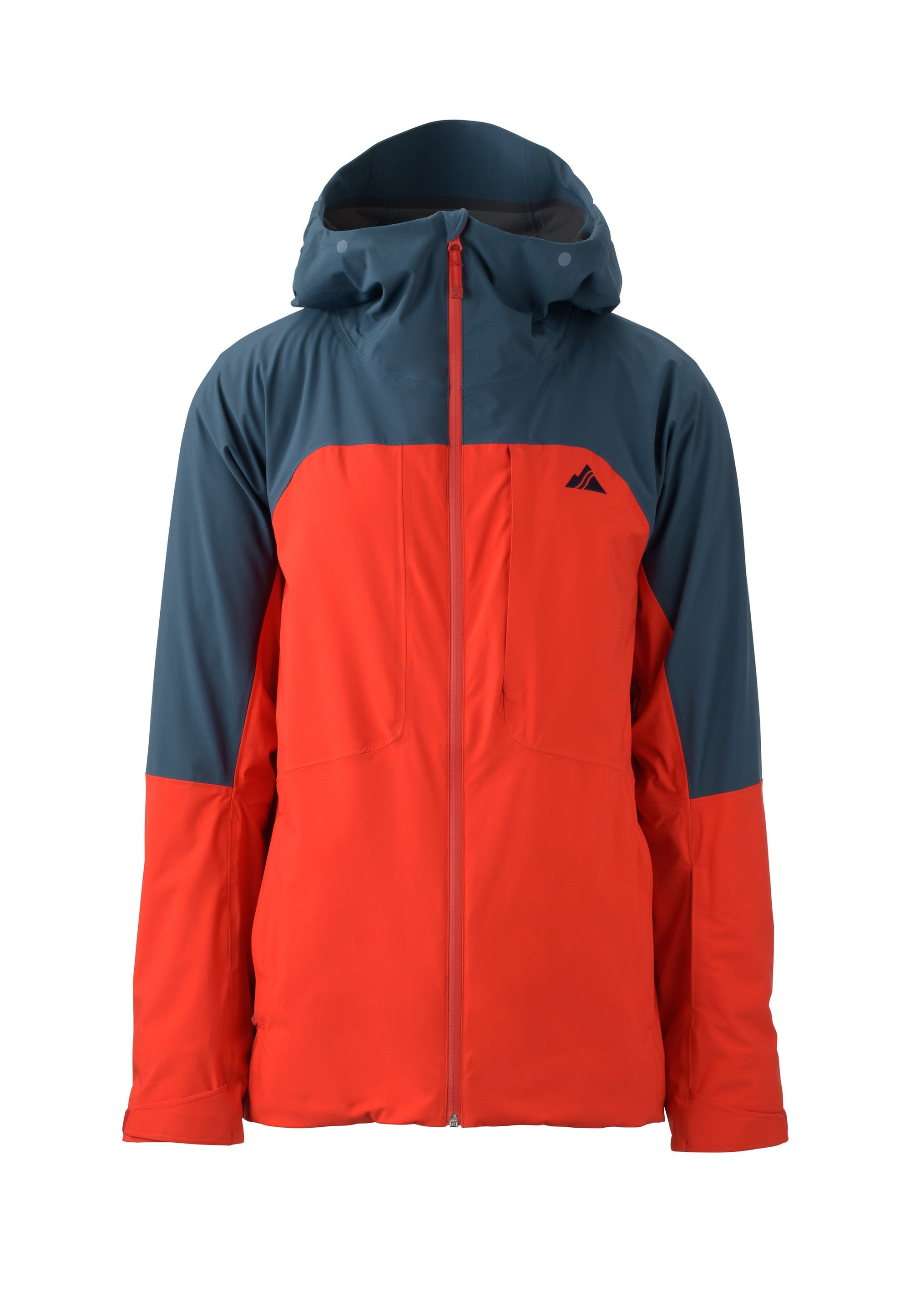 fire red 2019 men's ozone insulated skiing and snowboarding jacket from strafe outerwear