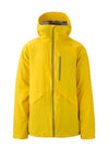 sun yellow 2019 men's hayden insulated skiing and snowboarding jacket from strafe outerwear