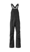 black 2019 men's nomad event shell skiing and snowboarding bib pant from strafe outerwear