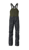 woods camo 2019 men's nomad event shell skiing and snowboarding bib pant from strafe outerwear