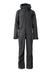 black 2019 men's sickbird event shell skiing and snowboarding one-piece suit from strafe outerwear