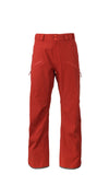 deep red 2019 men's summit insulated skiing and snowboarding pant from strafe outerwear