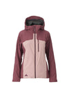 misty pink 2019 women's eden insulated skiing and snowboarding jacket from strafe outerwear