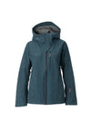 new navy 2019 women's meadow event shell skiing and snowboarding jacket from strafe outerwear