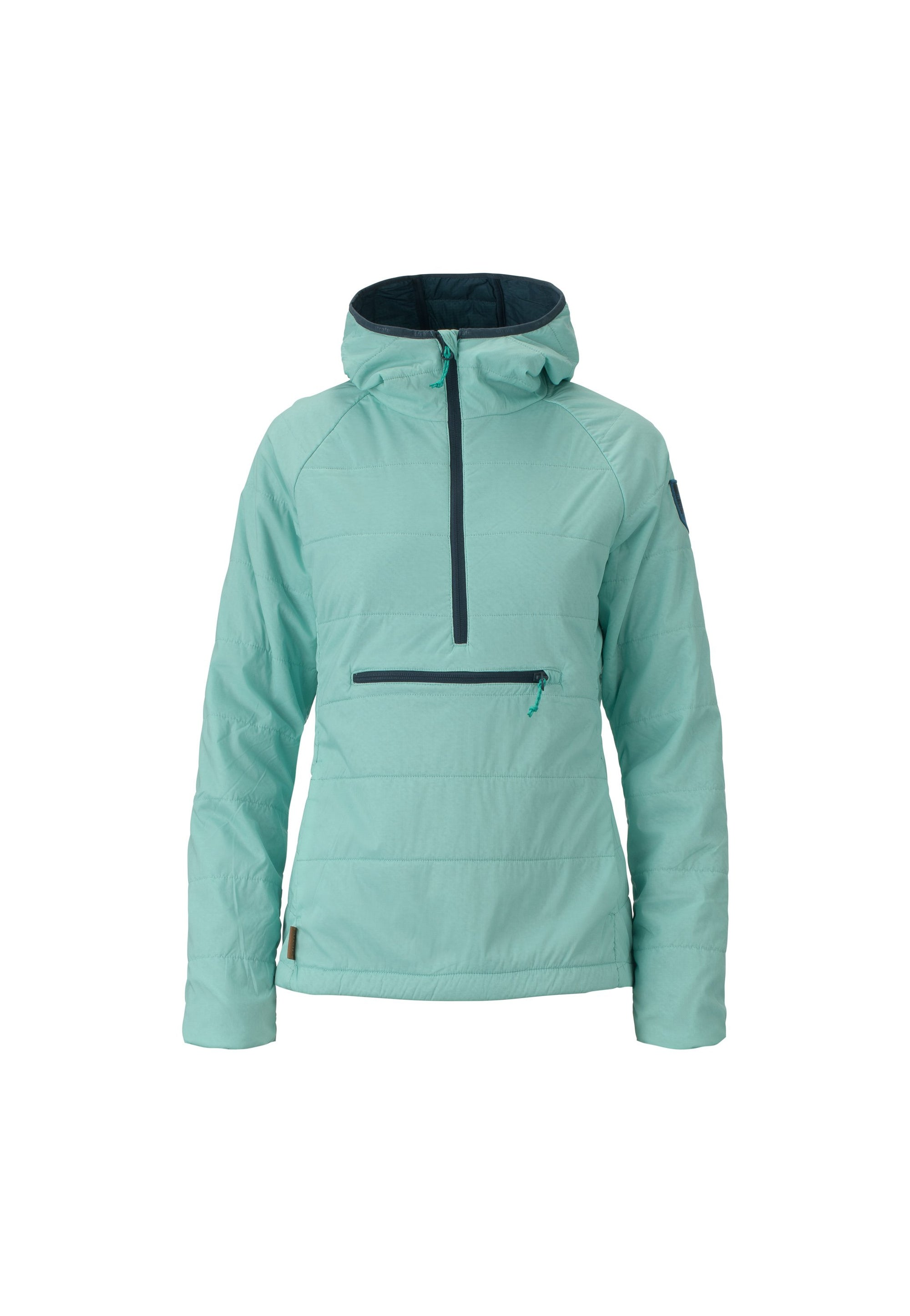 tropicana 2019 women's sunnyside polartec alpha anorak insulated skiing and snowboarding mid layer from strafe outerwear