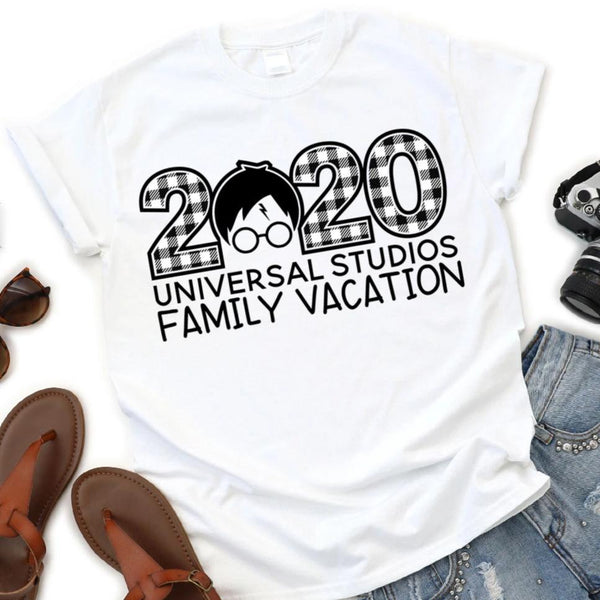 Harry Potter | Universal Studios | 2020 Themed Vacation Shirts (Buffalo Plaid)