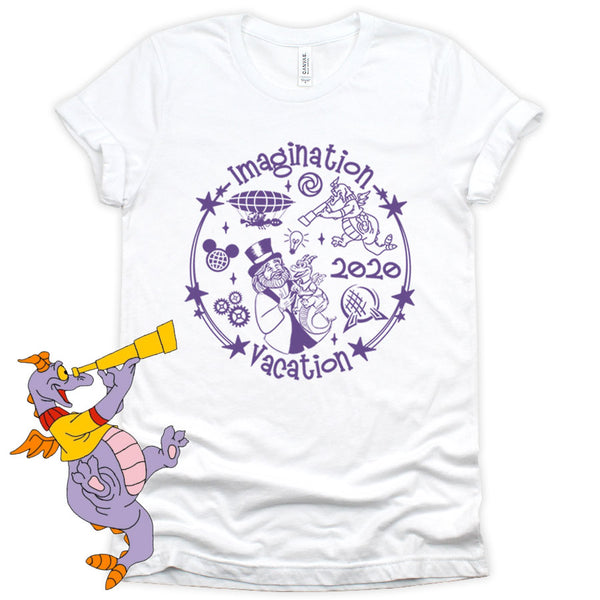 Figment Shirt Imagination Vacation 2020
