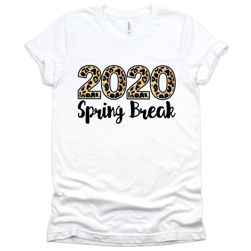 Spring Break 2020 Personalized Shirt (Animal Print Leopard)