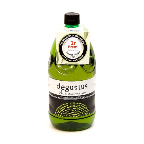 Extra virgin oil large bottle 2l. Degustus