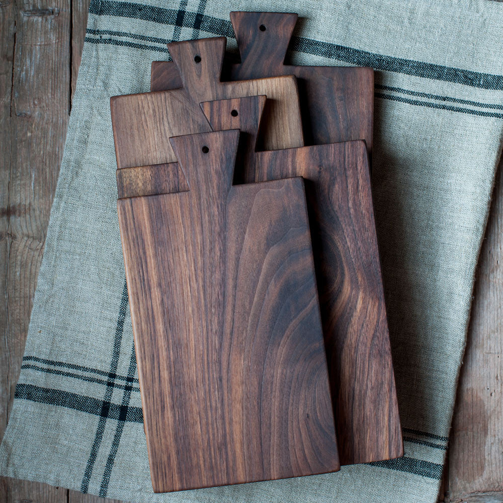 Walnut Serving Board - Cattails Woodwork
