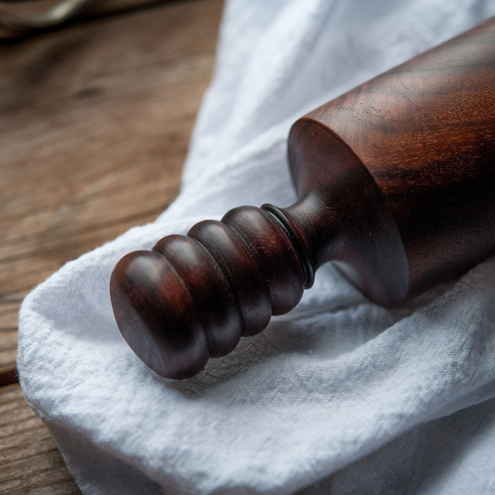 Claro Walnut Rolling Pin - Cattails Woodwork